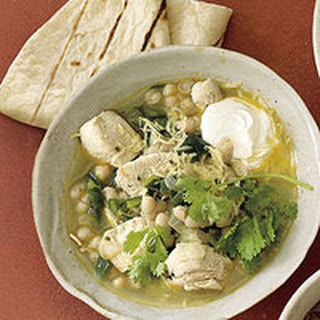 White Bean, Chicken and Poblano Chili