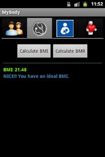 MyBody - Health Calculator- screenshot thumbnail