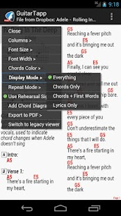 GuitarTapp - Tabs & Chords - screenshot thumbnail