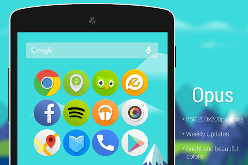 Opus – Icon Pack (Apex/Nova) v1.0