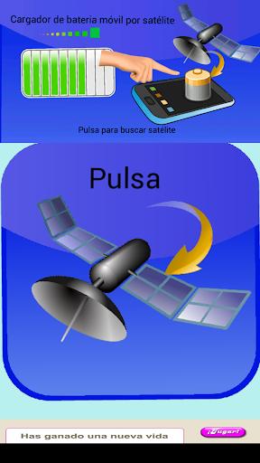 cargador móvil satélite broma