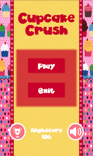 Cupcake Crush Tap the Sweets