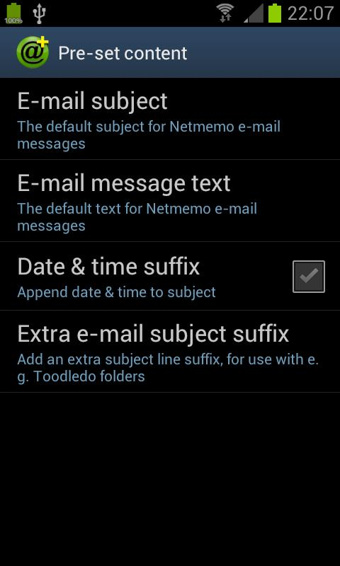 Netmemo Plus Voice Recorder - screenshot