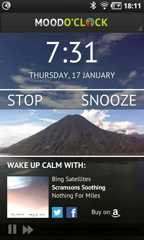 Mood O'Clock Alarm - screenshot
