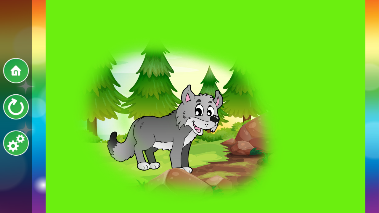 Kids Animal Scratch & Color 2 - screenshot