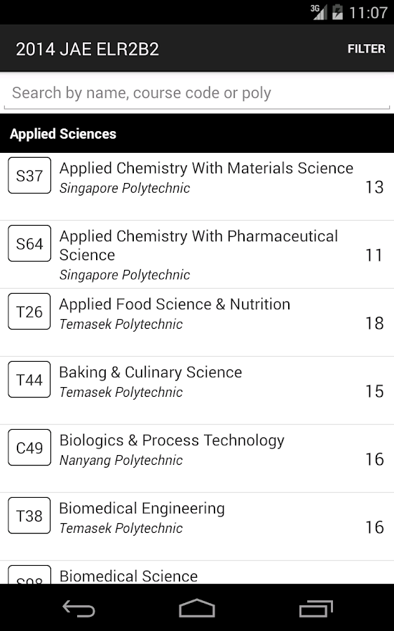 Singapore JAE Poly Guide- screenshot