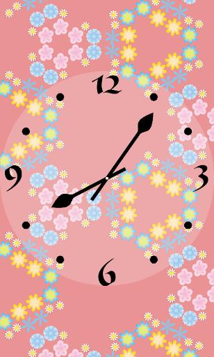 KaleidoscopeClock Flower Free
