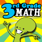 3rd Grade Math - Common Core icon
