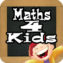 Children learn to multiply icon