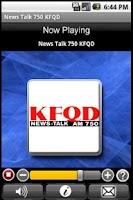 Screenshot of News Talk 750