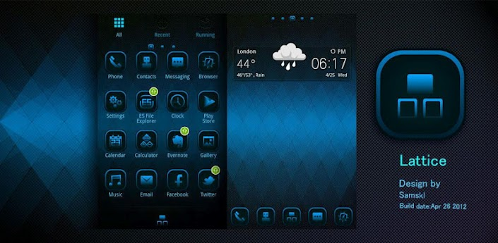 Lattice GO LauncherEX Theme apk