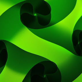 Green Light by VAM Photography - Abstract Patterns ( abstract, green, object, light )