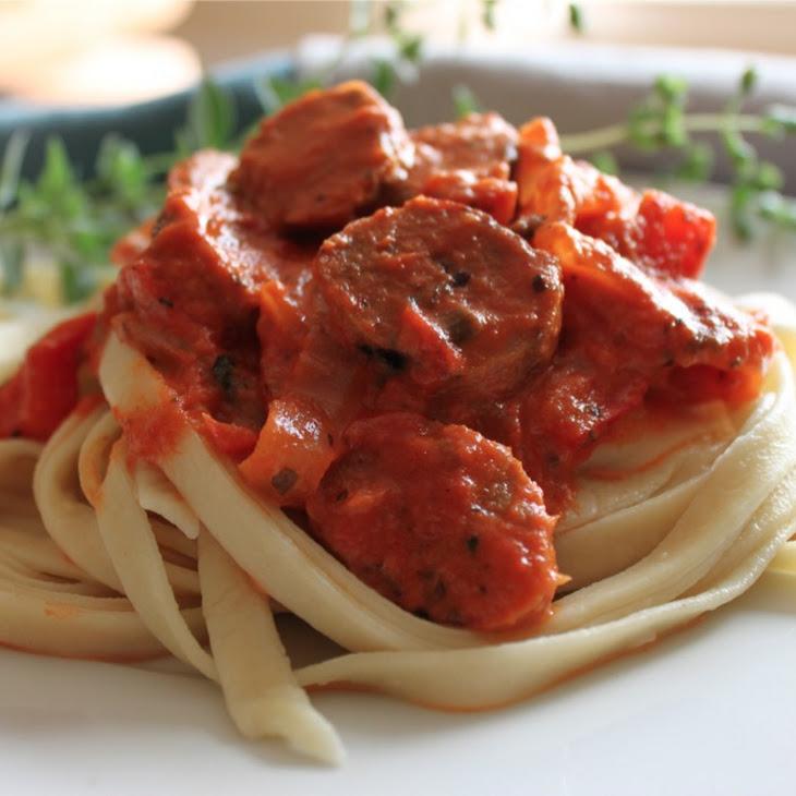Rosee Sauce with Chorizo