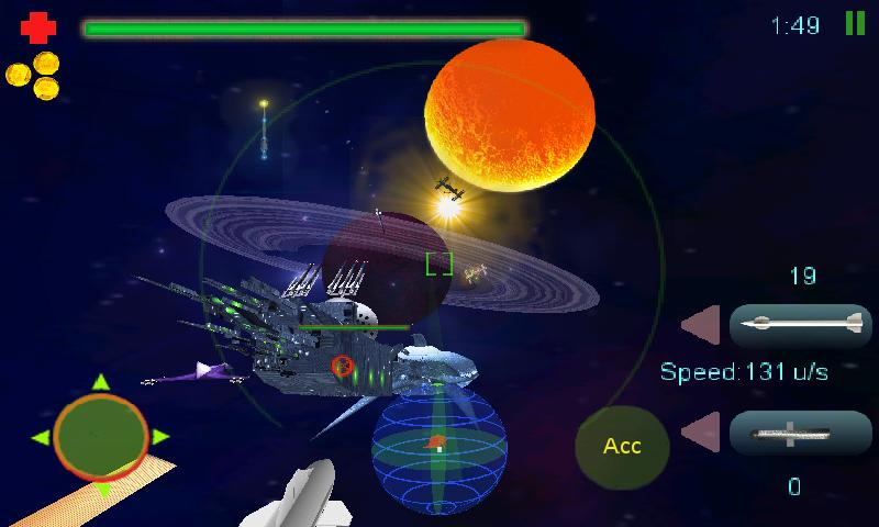 SpaceMOA 3D - screenshot
