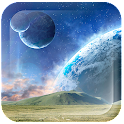 Space World Live Wallpaper icon