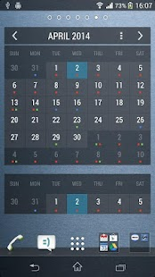 Calendar Widget KEY - screenshot thumbnail
