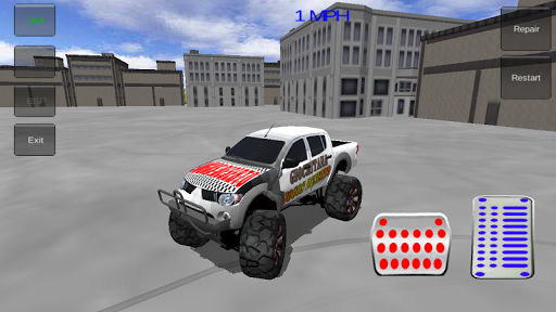玩免費賽車遊戲APP|下載4X4的怪物卡车至尊 app不用錢|硬是要APP