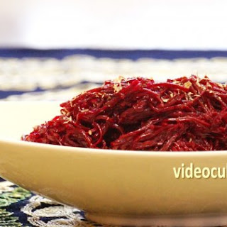 Beet Salad (Russian- Korean fusion)