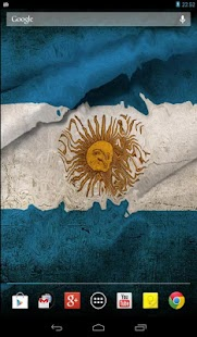 Flag of Argentina wave effect - screenshot thumbnail