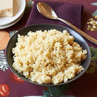 Quick Parmesan Couscous