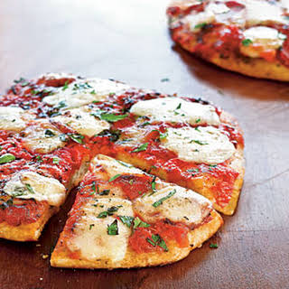 Herbed Cheese Pizza.
