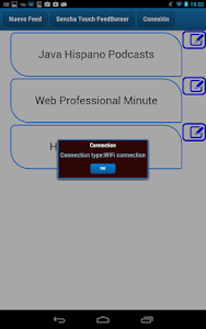 SenchaTouch FeedBurner screenshot 11