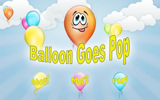 Balloon Goes Pop