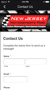 New Jersey Motorsports Park- screenshot thumbnail