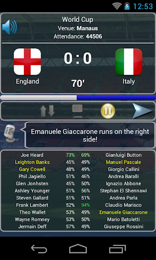 True Football National Manager 1.4.6 screenshots 5