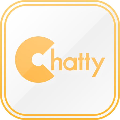 Chatty 完全無料チャットSNSで友達探し LOGO-APP點子