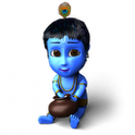 Krishna Live Wallpaper 3D icon