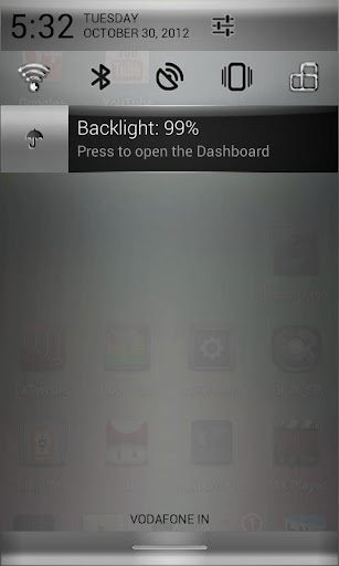 CM10 Chrome Silver Theme