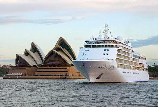 Silver_Shadow_in_Sydney_2 - Silver Shadow sails past the Sydney Opera House in Australia.