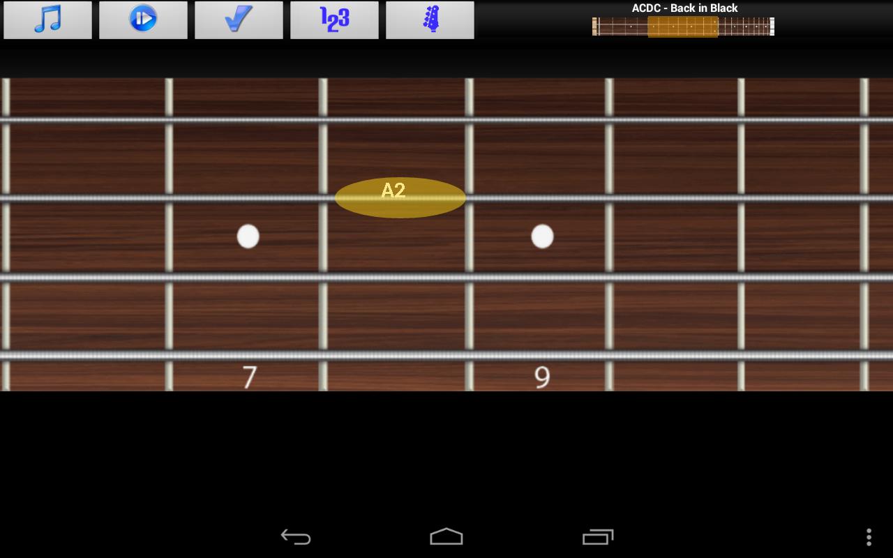 bass guitar guru pro - screenshot