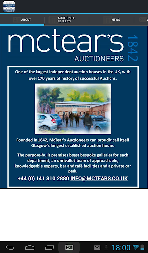 McTear's Auctioneers Valuers