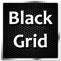 BlackGrid HD APEX ADW THEME icon