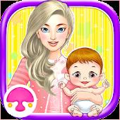 Newborn Baby Care 2-Girls Game