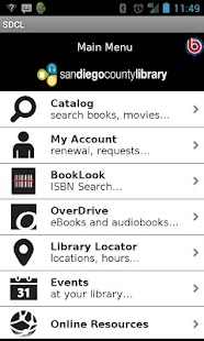 San Diego County Library- screenshot thumbnail