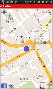 Walking Navigation (Guide Me!) screenshot