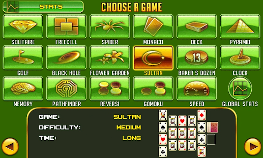 Platinum Solitaire 3 - screenshot thumbnail