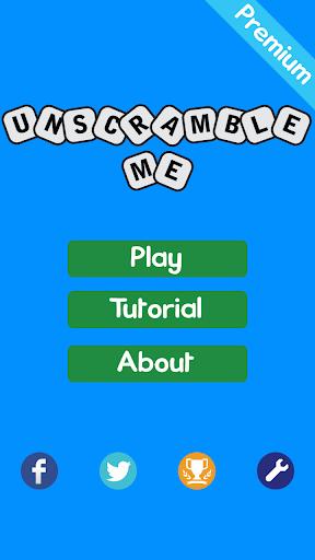 UnScramble Me Free