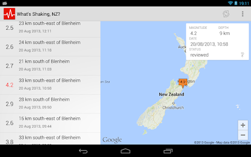 What's Shaking, NZ?- screenshot thumbnail
