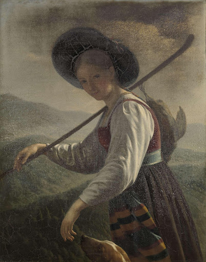 Swiss Peasant Woman