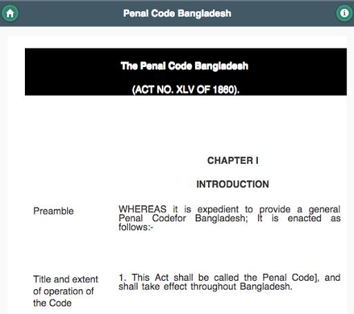 玩免費教育APP|下載Penal Code of Bangladesh app不用錢|硬是要APP
