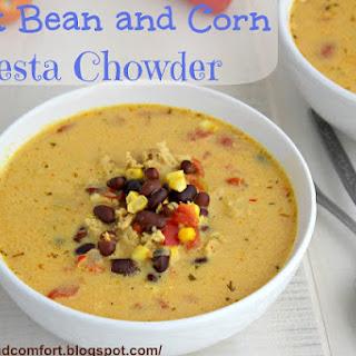 Black Bean and Corn Fiesta Chowder (Throwback Thursdays).