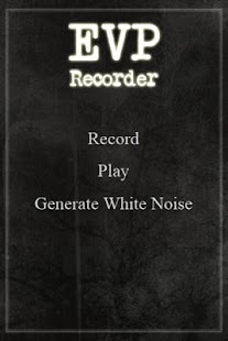 EVP Recorder SPIRIT VOICE APP - screenshot thumbnail