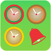 Flamenco Clock Widget