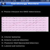 Cardiology Board Review App