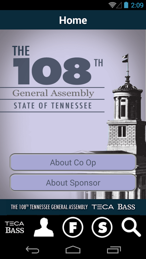 108th Tenn. General Assembly - screenshot