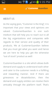 CustomerGuardian screenshot 3